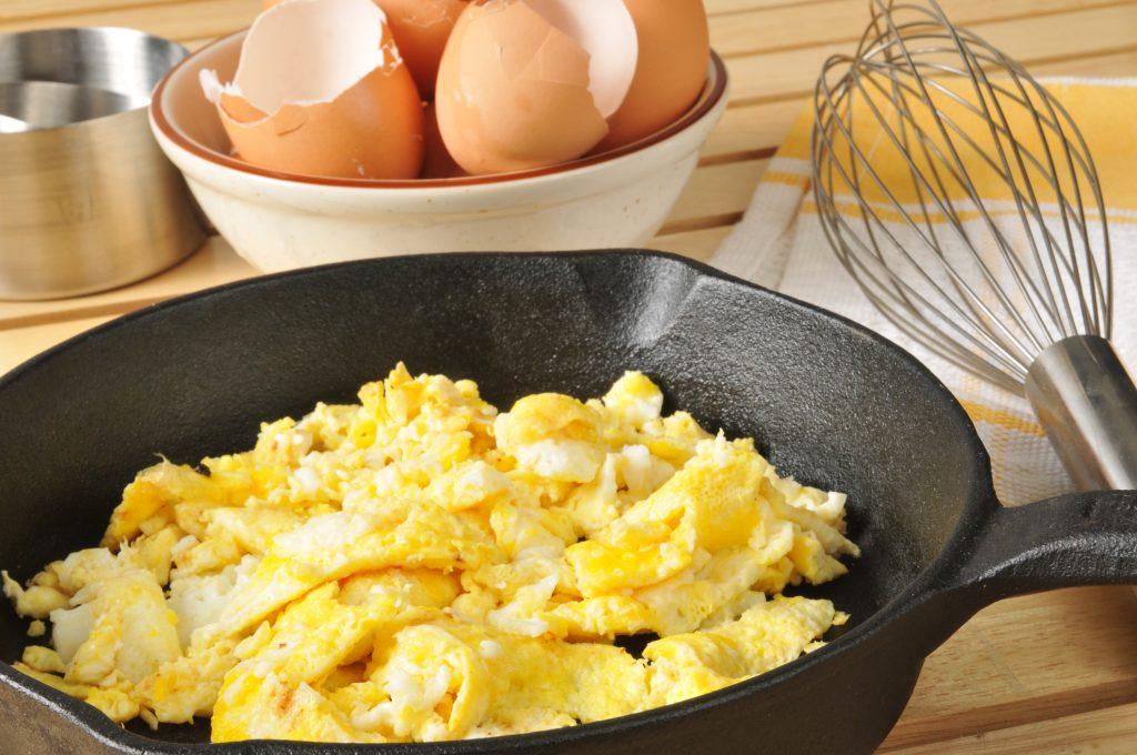 desayunos saludables con huevo