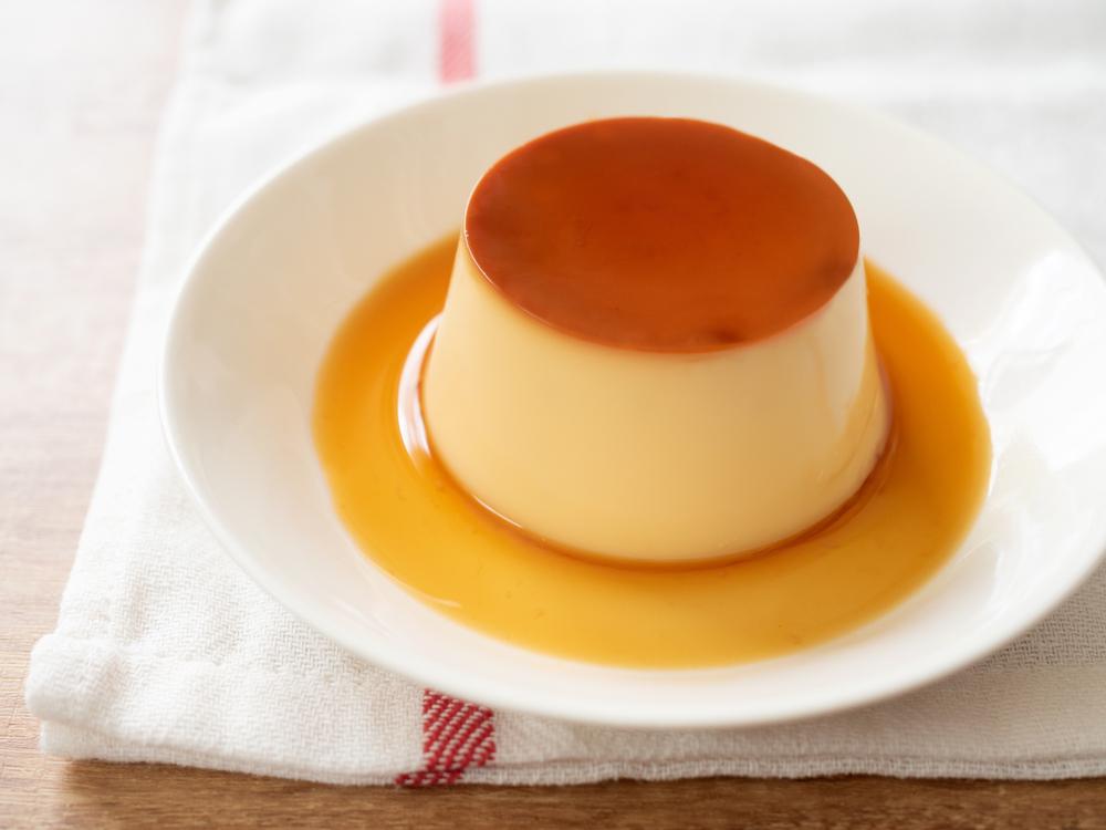 flan de huevo casero
